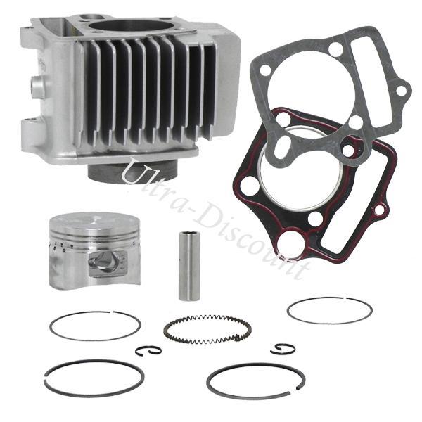 kit cilindro per pit bike 125cc loncin 1p52fmi ricambi pit bike motore 107cc 110cc. Black Bedroom Furniture Sets. Home Design Ideas