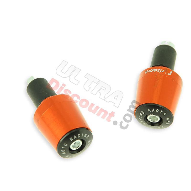 migliore vendita acquista il più recente a basso prezzo Tappi protezione manopole arancione (tipo 7) per Quad liquide 200cc