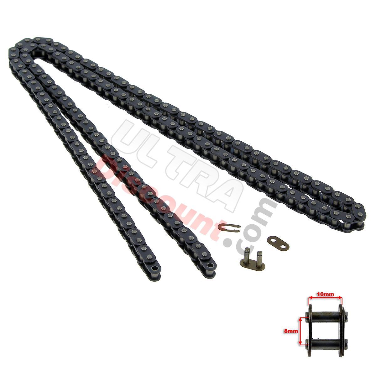 catena rinforzata 72 grandi maglie  tipo tf8   ricambi