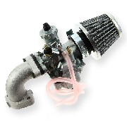 * Kit carburatore 26 mm per PBR 50cc 125cc.