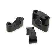 Supporto manubrio per quad Shineray 200 STXE (Nero)