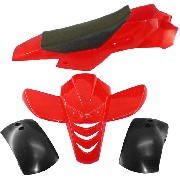 Carena mini quad rossa tipo 2