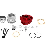 Kit 53cc 4 transferts asse di 10 mm (tipo C, rosso)